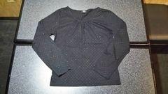 C.P.A SIMPLE&NATURAL 長袖シャツ 黒 サイズL