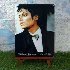 ★新品★【ブリキ看板】マイケル・ジャクソン 1958-2009