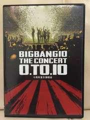 ●DVD BIGBANG [10 THE CONCERT : 0.TO.10 IN SEOUL] 2016●