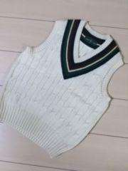 Old!ラルフローレンRalphチルデンベストセーター東京スタイル