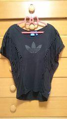 adidas オリジナルス フリンジTシャツ