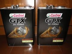 カストロール エンジンオイル GTX DC-TURBO 10W-30 4L缶X2缶