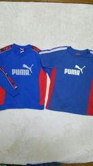 Jr  PUMAトレーナー&半袖Tシャツ