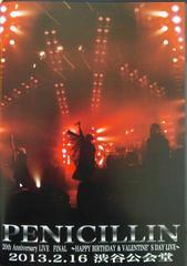 PENICILLIN ��Ƽ�݁F20th Anniversary Live 2013.2.16��ײ��DVD