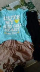 女の子*Tシャツ,ズボン,レギンス,セット