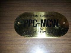 MGC PPCのプレート