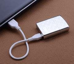 USB�[�d�����C�^�[ zippo �^�C�v �v���[���g�� �d�q ���C�^�[