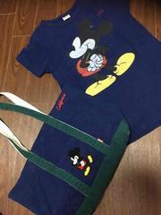 ママサイズ ミッキーTシャツとバックのセット