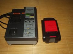 panasonic7.2〜28.8Vパナソニック充電器EZ0L80電池1