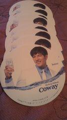 2PM COWAY 非売品コースター ジュンス Junsu 一枚