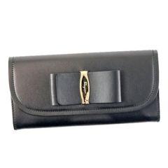 ★サルバトーレフェラガモ 長財布(BK)『22C690』★新品本物★