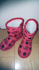 ベビードール BABYDOLL ブーツ 18 赤 数回使用