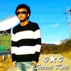 【入札ラッシュ】ボーダークルーニット/ストリートお兄系M