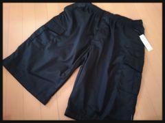5Lカーゴハーフパンツ 新品黒/MCC-407