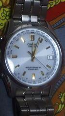 即決送料込CASIOLINEAGタフソーラーマルチバンド6電波腕時計