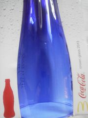 マクドナルド 2013年 CROWN GLASS Coca Cola(ブルー)
