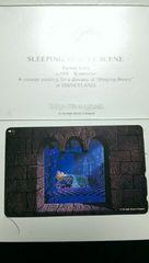 ディズニー《眠れる森の美女》未使用50度数テレカ 限定版