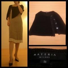 MATERIA☆side ボタン 肩引っかけ型 夏サラサラ上質 羽織 38