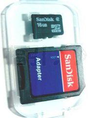 サンディスク microSDHC(マイクロSDカード)16GB Class4☆普通郵便送料無料