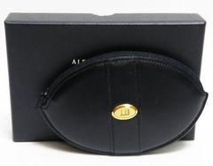 新品同様 本物 dunhill ダンヒル コインケース 財布 レザー 黒