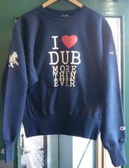 チャンピオン DUB スウェット ダブ ライオン レゲエ I Love DUB