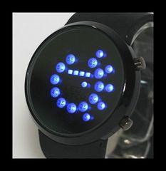 ■■■新品♪ミラーLEDデザイン腕時計☆ブルーライト