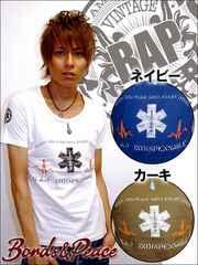 BONDS&PEACE BAP SAVED Tシャツ/ホワイトL 引カジ系