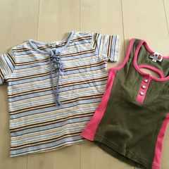 110サイズ トップス セット Tシャツ タンクトップ a.v.v