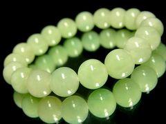 ビルマ産翡翠§10ミリ§高級天然石数珠