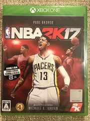 NBA2K17 初回コード付き 新品未開封 XBOX ONE