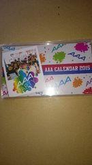 AAA 2015カレンダー