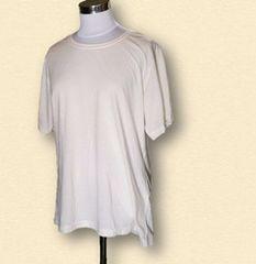 新品オフホワイトTシャツ4L大きいサイズ