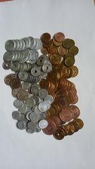 日本の近代貨幣。纏めて200枚以上。