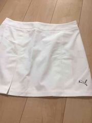プーマゴルフ白スカート