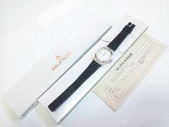 10343/BURENビューレン★有名ブランドクラシカルフェイスメンズ腕時計オススメ