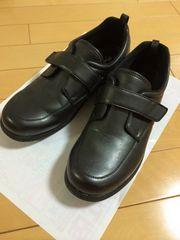 ヘルシーライフ 靴 ブラック 4e 幅広 健康シューズ