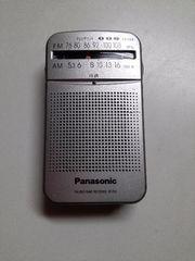 FM, AM, パナソニックラジオ。