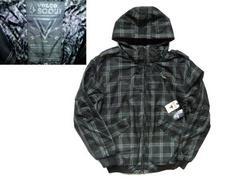 完売 VOLCOM(ボルコム) 中綿ジャケット 黒 ブラック L