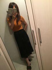 ココディール☆2016秋冬細プリーツガウチョ1 美品♪