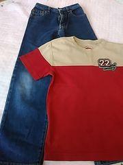 ユニクロ 130 パンツ&Tシャツ レターパック510