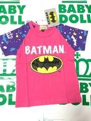 ベビードール新品☆バットマン半袖Tシャツ110☆BABYDOLL