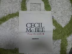 CECIL McBEE非売品エコバック