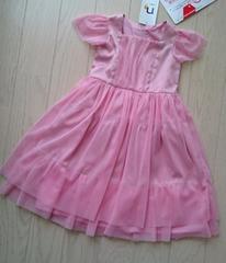 100★素敵なピンクドレス★女の子ワンピース★結婚式★発表会★新品