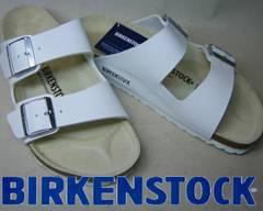ビルケンシュトック新品アリゾナARIZONA051733ホワイト36