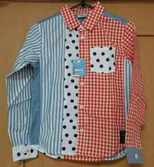 BREEZE☆新品タグ付☆春物のシャツ☆size140