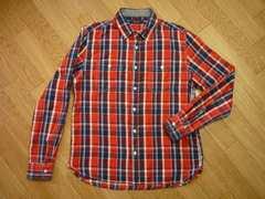レイジブルー 状態良好 サイズL ネルシャツ 長袖シャツ