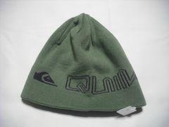 mb593 男 QUIKSILVER クイックシルバー リバーシブル ニット帽