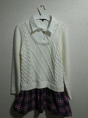 140 女児 セーター ワンピース