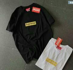 新品superme半袖シャツ 黒