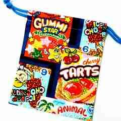 2-28 海外スナックパッケージ柄B 給食袋